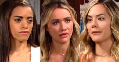 Bold and the Beautiful Spoilers: Zoe Buckingham (Kiara Banes) - Flo Fulton (Katrina Bowden) - Hope Logan (Annika Noelle)