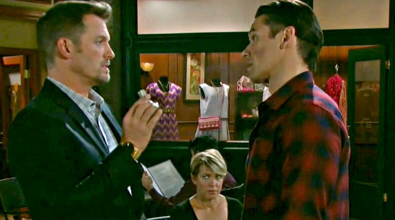 Days of Our Lives: Brady Black (Eric Martsolf) - Xander Cook (Paul Telfer) - Nicole Walker (Arianne Zucker)