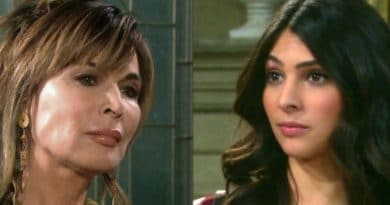 Days of Our Lives: Kate Roberts (Lauren Koslow) - Gabi Hernandez (Camila Banus)