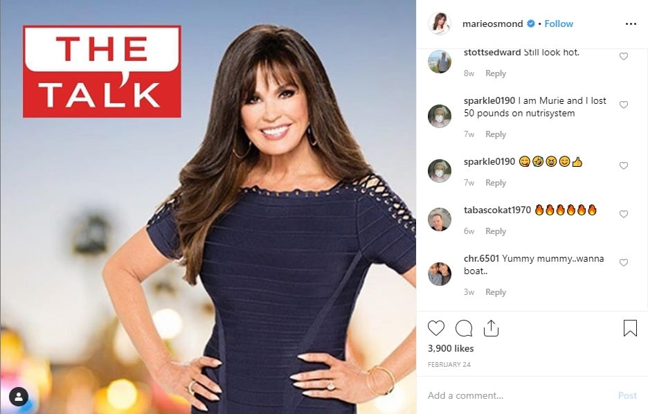 The Talk: Marie Osmond