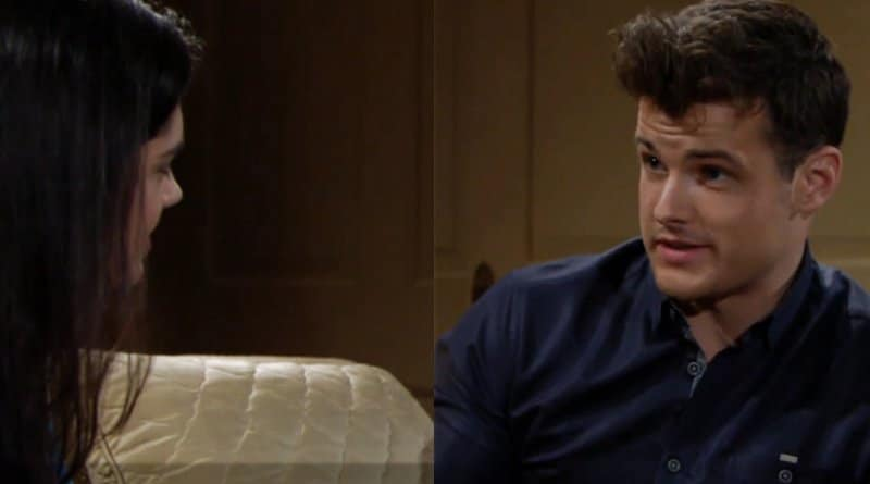 Young and the Restless: Lola Rosales (Sasha Calle) - Kyle Abbott (Michael Mealor)