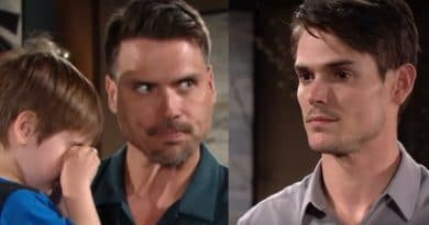 Young and the Restless: Nick Newman (Joshua Morrow) - Adam Newman (Mark Grossman) - Christian Newman (Jude & Ozzy McGuigen)