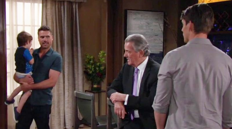 Young And The Restless Spoilers Adam Wants Both Sons Ready To
