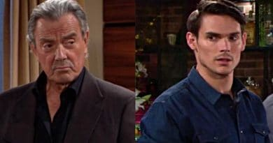 Young and the Restless Spoilers: Victor Newman (Eric Braeden) - Adam Newman (Mark Grossman)
