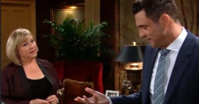 Young and the Restless: Traci Abbott (Beth Maitland) - Cane Ashby (Daniel Goddard)
