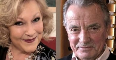 Young and the Restless: Traci Abbott (Beth Maitland) - Victor Newman (Eric Braeden)