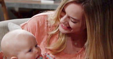 Bold and the Beautiful: Hope Logan (Annika Noelle) - Beth Spencer (River Davidson and Madeline Valdez)