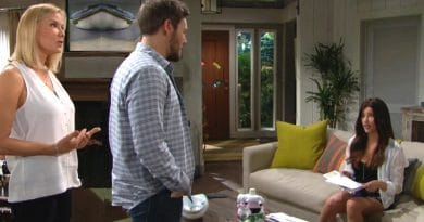 Bold and the Beautiful Spoilers: Steffy Forrester (Jacqueline MacInnes Wood) - Liam Spencer (Scott Clifton) - Brooke Logan (Katherine Kelly Lang)