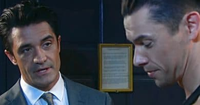 Days of Our Lives Spoilers: Ted Laurent (Gilles Marini) - Xander Cook (Paul Telfer)