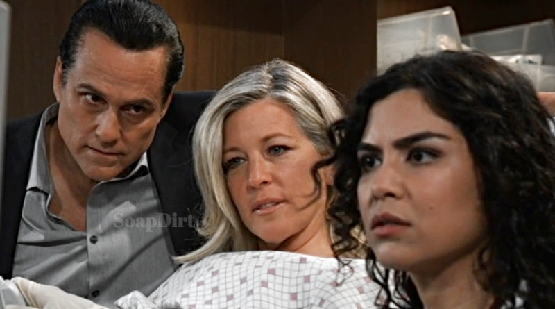 General Hospital: Sonny Corinthos (Maurice Benard) - Carly Corinthos (Laura Wright)