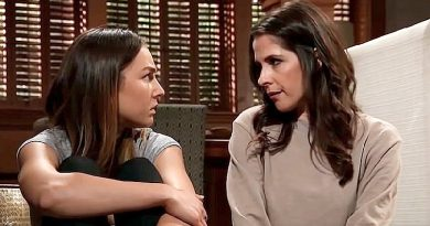 General Hospital Spoilers: Kristina Corinthos (Lexi Ainsworth) - Sam McCall (Kelly Monaco)