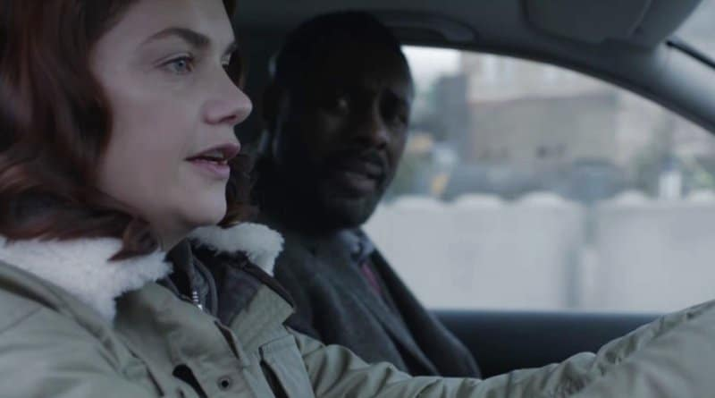 BBC's Luther: DCI John Luther (Idris Elba) - Alice Morgan (Ruth Wilson)