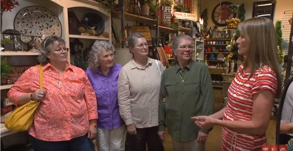 Sister Wives: Alice Sullivan - Genille Brown - Sheryl Usher - BonnieBarber - Annie Allred