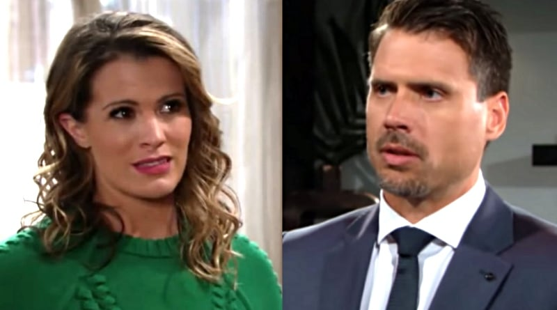 Young And The Restless Nick Pleads With Chelsea To Take His Side Versus Adam Soap Dirt
