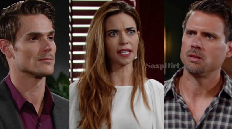 Young and the Restless Spoilers: Adam Newman (Mark Grossman) - Victoria Newman (Amelia Heinle) - Nick Newman (Joshua Morrow)