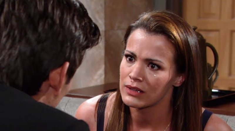 Young And The Restless Spoilers Chelsea Gives Adam An Ultimatum She Returns Next Week Soap Dirt