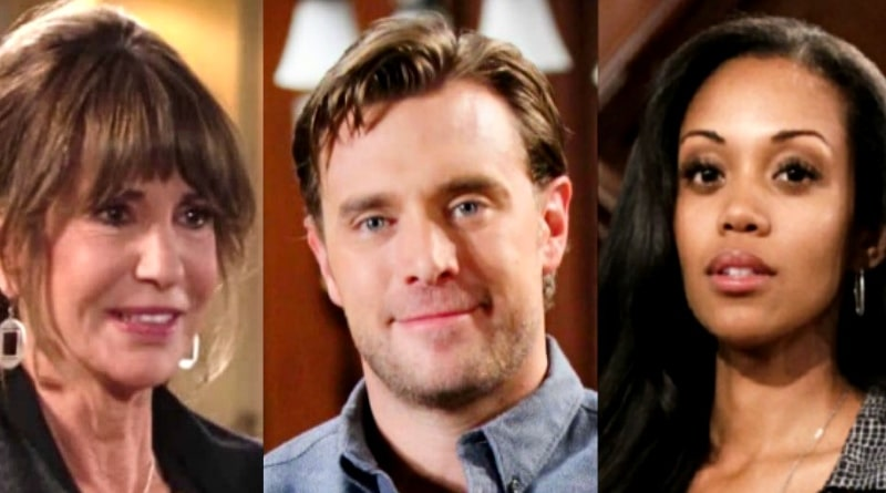 Young and the Restless Spoilers: Jill Abbott (Jess Walton) - Billy Abbott (Billy Miller) - Hilary Curtis (Mishael Morgan)