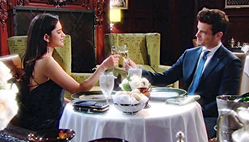 Young and the Restless Spoilers: Lola Rosales (Sasha Calle) - Kyle Abbott (Michael Mealor)