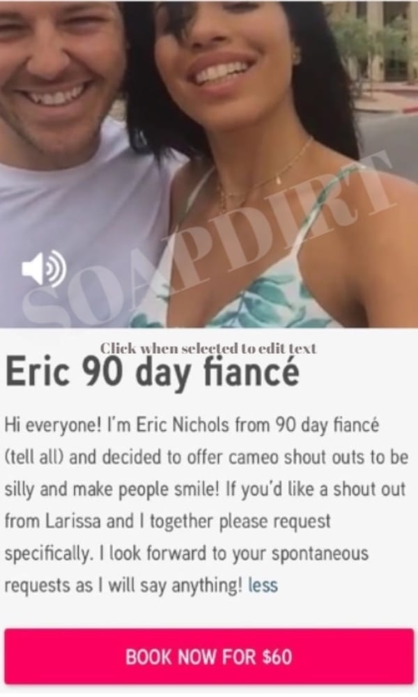 90 Day Fiance: Eric Nichols - Cameo