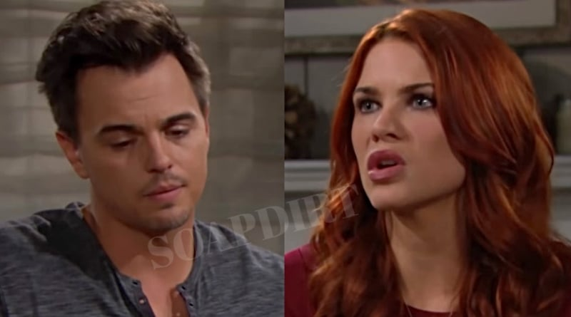 Bold and the Beautiful Spoilers: Wyatt Spencer (Darin Woods) - Sally Spectra (Courtney Hope)