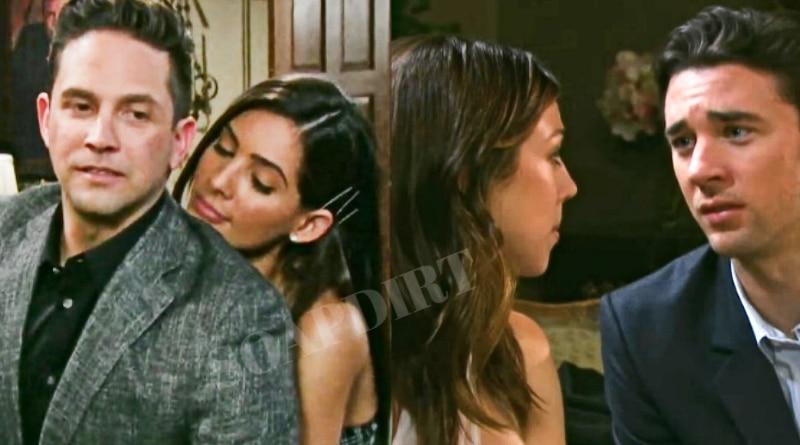 Days of Our Lives Spoilers: Chad DiMera (Billy Flynn) - Gabi Hernandez (Camila banus) - Abigail Deveraux (Kate Mansi) - Stefan DiMera (Brandon Barash)