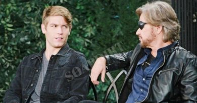 Days of Our Lives Spoilers: Tripp Dalton (Lucas Adams) - Steve Johnson (Stephen Nichols)