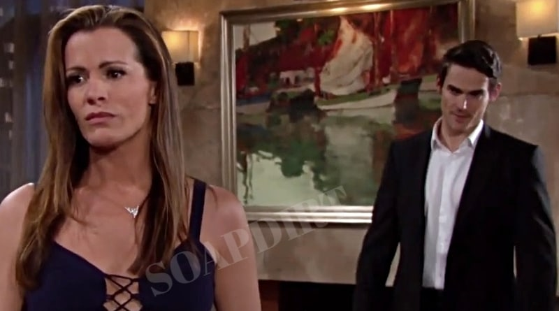 Young And The Restless Chelsea And Adam S Explosive Past Pulls Them Back Together Soap Dirt