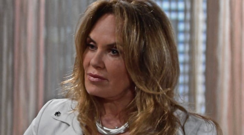 Young And The Restless Did Chelsea S Mom Anita Cause Calvin S Heart Attack Catherine Bach Back Soap Dirt