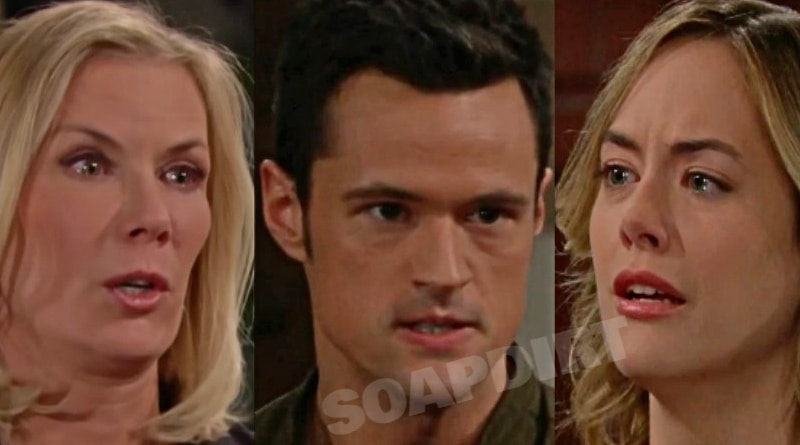 Bold and the Beautiful Spoilers: Brooke Logan (Katherine Kelly Lang) - Thomas Forrester (Matthew Atkinson) - Hope Logan (Annika Noelle)