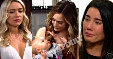 Bold and the Beautiful Spoilers: Flo Fulton (Katrina Bowden) - Hope Logan (Annika Noelle) - Steffy Forrester (Jacqueline MacInnes Wood)
