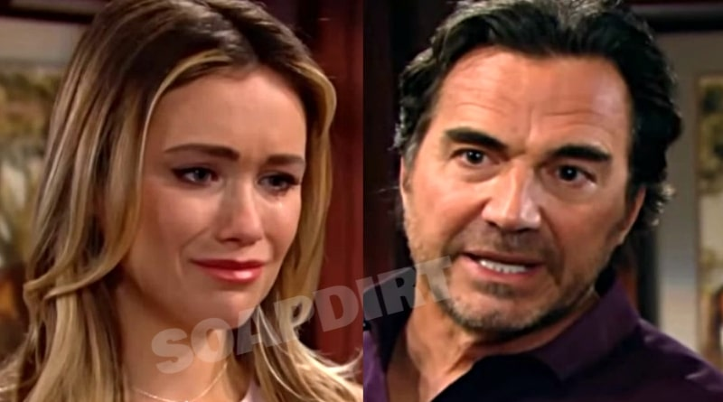 Bold and the Beautiful Spoilers: Flo Fulton (Katrina Bowden) - Ridge Forrester (Thorsten Kaye)