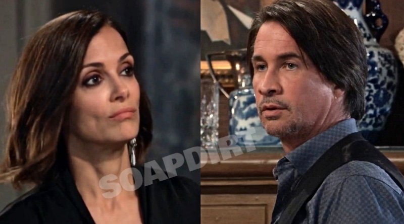 General Hospital Spoilers: Hayden Barnes (Rebecca Budig) - Hamilton Finn (Michael Easton)