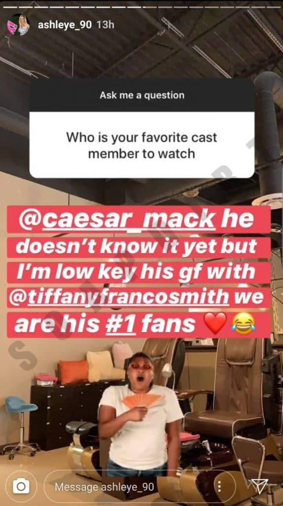 90 Day Fiance: Ashley Martson - Caesar Mack - Tiffany Franco