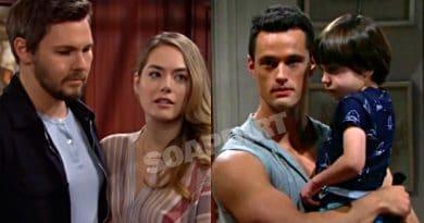 Bold and the Beautiful Spoilers: Liam Spencer (Scott Clifton) - Hope Logan (Annika Noelle) - Thomas Forrester (Matthew Atkinson) - Douglas Forrester (Henry Joseph Samiri)