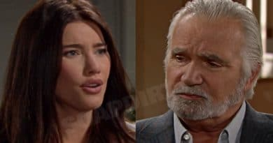 Bold and the Beautiful Spoilers: Steffy Forrester (Jacqueline MacInnes Wood) - Eric Forrester (John McCooke)