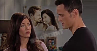 Bold and the Beautiful: Steffy Forrester (Jacqueline MacInnes Wood) - Thomas Forrester (Matthew Atkinson)