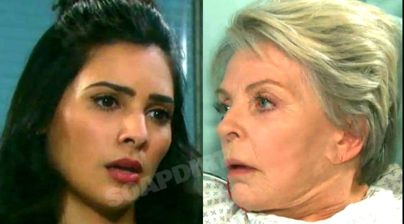 Days of Our Lives Spoilers: Gabi Hernandez (Camila Banus) - Julie Williams (Susan Seaforth Hayes)