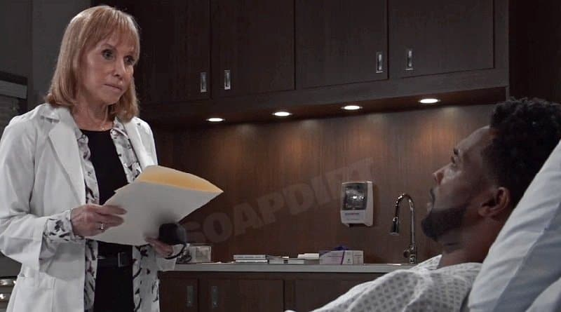General Hospital Spoilers: Monica Quartermaine (Leslie Charleson) Andre Maddox (Anthony Montgomery)