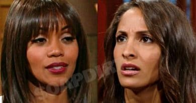 Young and the Restless Spoilers: Amanda Sinclair - Hilary Curtis (Mishael Morgan) - Lily Winters (Christel Khalil)