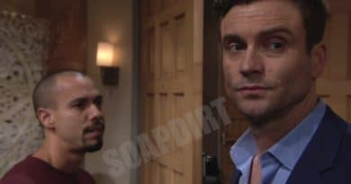 Young and the Restless Spoilers: Devon Hamilton (Bryton James) - Cane Ashby (Daniel Goddard)