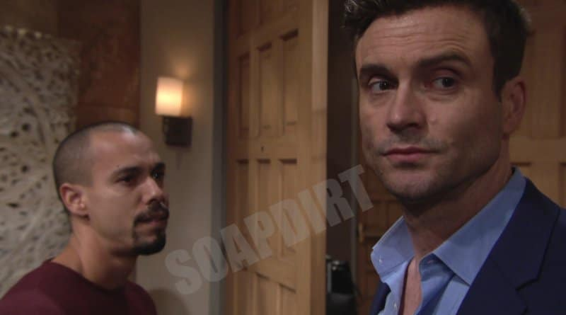Young and the Restless Spoilers: Devon Hamilton (Bryton James) - Cane Ashby (Daniel Goddard)