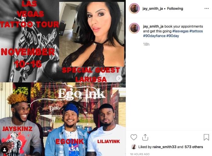 90 Day Fiance: Jay Smith - Larissa Dos Santos Lima - Instagram