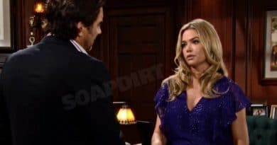 Bold and the Beautiful: Ridge Forrester (Thorsten Kaye) - Shauna Fulton (Denise Richards)