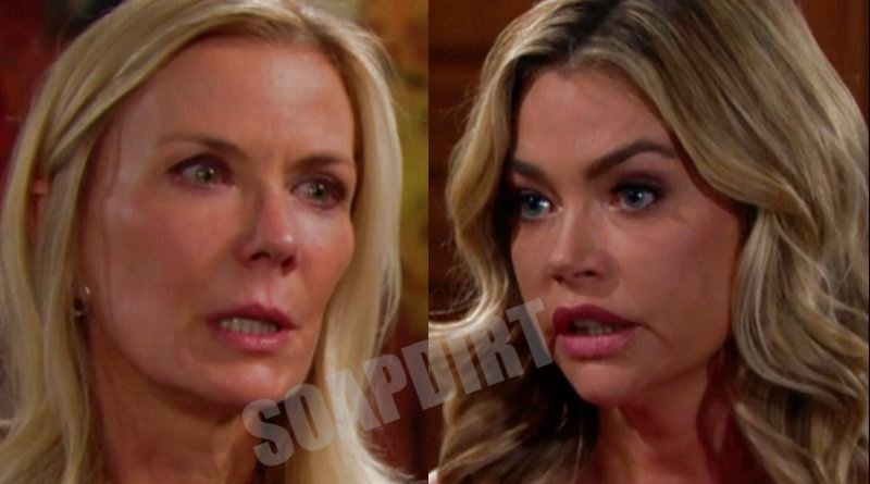 Bold and the Beautiful Spoilers: Brooke Logan (Katherine Kelly Lang) - Shauna Fulton (Denise Richards)
