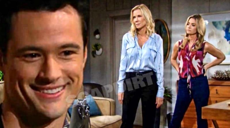 Bold and the Beautiful Spoilers: Thomas Forrester (Matthew Atkinson) - Brooke Logan (Katherine Kelly Lang) - Shauna Fulton (Denise Richards)