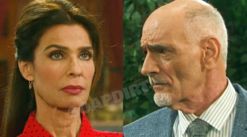 Days of Our Lives Spoilers: Princess Gina Von Amberg (Kristian Alfonso) - Rolf Wilhelm (William Utay)