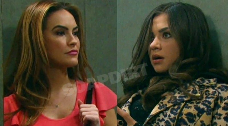 Days of Our Lives Spoilers: Jordan Ridgeway (Chrishell Stause) - Ciara Brady (Victoria Konefal)