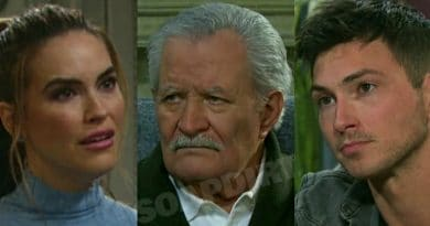 Days of Our LIves Spoilers: Jordan Ridgeway (Chrishell Stause) - Victor Kiriakis (John Aniston) - Ben Weston (Robert Scott Wilson)