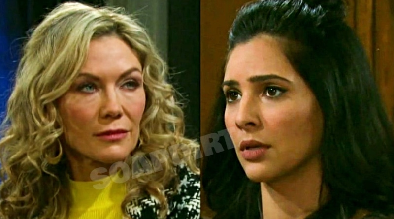 Days of Our Lives Spoilers: Kristen DiMera (Stacy Haiduk) - Gabi Hernandez (Camila Banus)