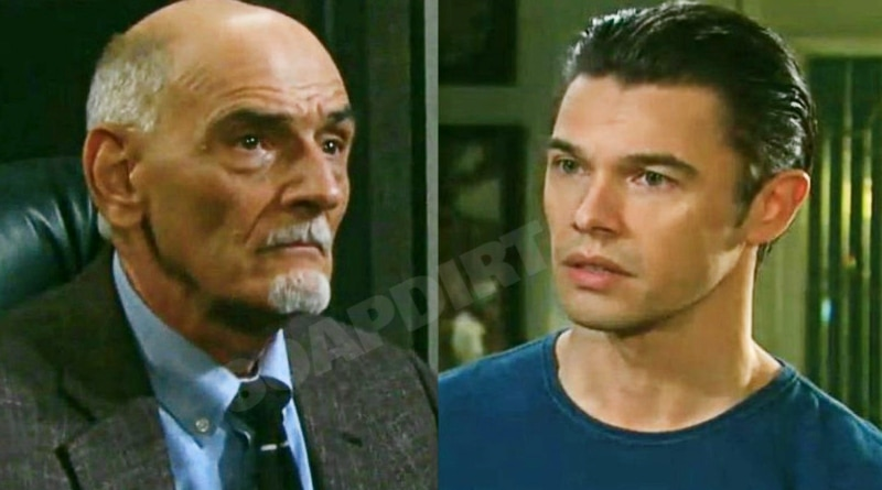 Days of Our Lives Spoilers: Wilhelm Rolf (William Utay) - Xander Cook (Paul Telfer)